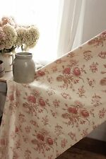 Fabric Vintage French faded floral circa 1940's English country cottage look