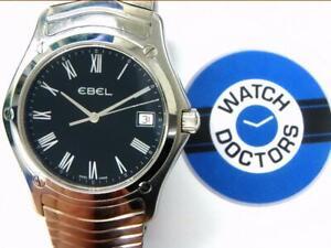 10%SALE Gents Stainless Steel EBEL Watch (291 HWR)