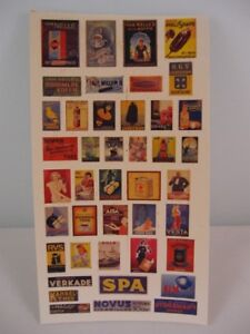 Reality In Scale 1:35 Enamel Dutch Advertising Signs - Diorama Accessory #35011