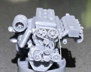 1:18 Scale  High Quality Resin Ford RS DOHC 16v Cosworth  Engine Amazing Detail