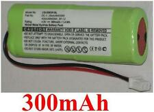Batterie 300mAh type 28AAAM4SMX 40AAAM4SMX DC-1 Pour Dogtra Quail Launcher QL
