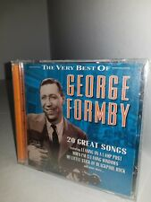 The Very Best of George Formby 20 Great Songs Music CD  NEW sealed P26