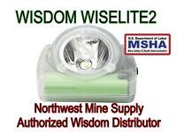 Wisdom Wiselite2 MSHA CERTIFIED Cordless Cap Lamp Hard Hat Mine Light