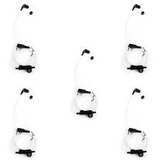 5x Headset Earpiece For Kenwood BAOFENG TYT LINTON UV-5R TG-UV2 Two Way White T1