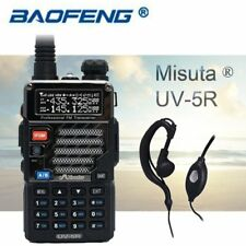 2019 Baofeng x Misuta UV-5R Walkie-Talkies Hand-Funkgerät Radio + Kopfhörer DE