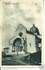 ma 29 1923 ANCONA Cattedrale - iagg. FP - Ed. Manfrè Ancona