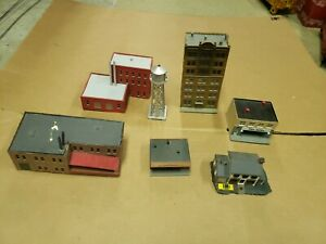N Scale Building Lot Accesories