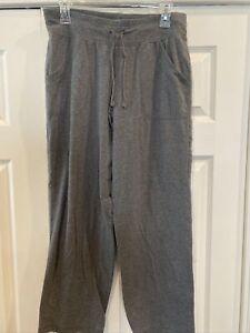 Women's Athletic Works Medium 8P/10P Gray Stretch Pants