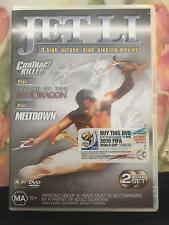 JET LI - CONTRACT KILLER & LEGEND OF THE DRAGON & MELTDOWN  AS NEW REGION 4 DVD