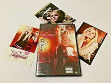 "Avril Lavigne Live DVD ""The Best Damn Tour In Toronto"" Japan OBI W/3 Post Cards"