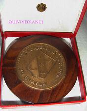 TB392 - PETITE TAPE DE BOUCHE en bronze - ESCORTEUR D'ESCADRE DU CHAYLA