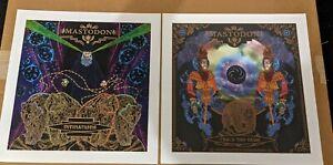 Mastodon Lithographed Prints