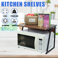 Steel Kitchen Microwave Rack Shelf Oven Stand Storage Cabinet Holder