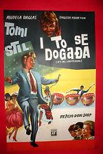 DREAM MAKER 1963 TOMMY STEELE ANGELA DOUGLAS DON SHARP RARE EXYU MOVIE POSTER