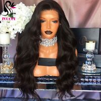 250%High Density Malaysian Virgin Human Hair Full Lace Front Wigs Body Wave