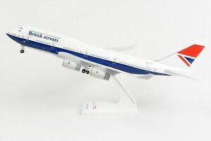 SkyMarks British Airways Boeing 747-400 Retro Negus Livery 1/200 SKR1037