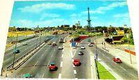 Stadtautobahn Funkturm Messe Berlin Ansichtskarte 50er 60er Jahre 47 å