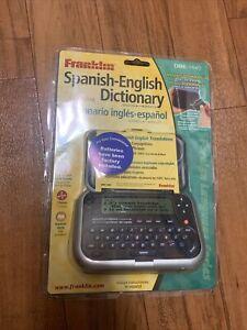 Franklin Dbe 1440 Spanish English Translator and Phrasebook NEW Sealed