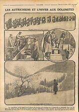 Soldiers Austria Army Dolomites Dolomiti Trentino-Alto Adige Italy WWI 1916