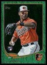 2013 Topps Green Sparkle Foil L.J. Hoes #148 RC Baltimore Orioles