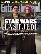 STAR WARS ULTIMO JEDI LAST JEDI MANIFESTO ENTERTAINMENT WEEKLY COVER POE DAMERON