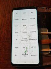 Ecran LCD SAMSUNG GALAXY S9 G960 - vitre cassée + défaut - S9-2