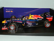MINICHAMPS 1/18 Red Bull Racing Rb9 Mark Webber Final GP Race Brazil 2013 MIB