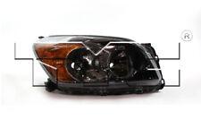 TYC Right Side Halogen Headlight for Toyota RAV4 Sport 2009-2012 Japan Built