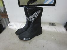 Joe Rocket Blaster Motorcycle Race Boots Men 8 Black  Italian Design