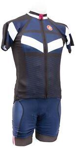 Castelli Free Aero Short Sleeve Cycling Kit Men MEDIUM Navy Road Bike Mountain