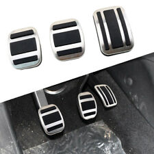 MT Foot Brake Gas Fuel Clutch Pedal Pad For Peugeot 3008 GT 4008 5008 2017 2018