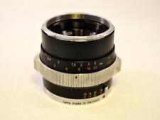 Zeiss Ikon 50mm f2 Planar Lens (Black) for Contarex