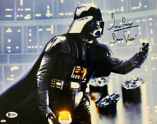 Dave Prowse Signed Star Wars Darth Vader 11x14 Photo - Beckett BAS 14