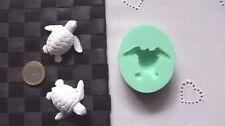 3D Silikonform Schildkröte / Seifenform / Basteln Diorama Hobby / Gießform