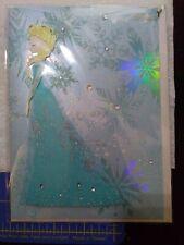 Papyrus Disney's Frozen Theme Card Blank Inside retail $9.95