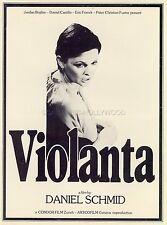 MARIA SCHNEIDER LOU CASTEL LUCIA BOSE INGRID CAVEN VIOLANTA 1977 RARE SYNOPSIS
