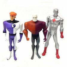 "DC Comics Justice League 5 ""CARTOON cifre x 3 allungati, METAMORPHO & Atom Set"