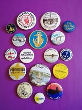 Vintage+Retro Maritime Nautical badge lot(10% going to a charity of your choice