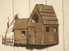 Copper House with Well Jere Style Sculpture Art Mid Century
