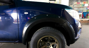 FENDER FLARES V.3 WITH STANLESS NUT FOR NISSAN FRONTIER NAVARA NP300 2014-