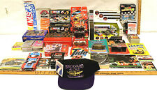 Vintage NASCAR Lot Diecast Cars Model Kits Guide Playing Cards Winston Brickyard