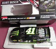 BRAND NEW, 1/24 ACTION 2017 FORD FUSION, #41, MONSTER ENERGY, KURT BUSCH