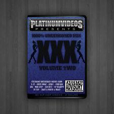 1000% Uncensored Volume 2 Hip-Hop Rap Music Videos on DVD Video UNCUT VIDEOS