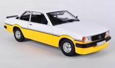 Opel Ascona B I2000 1979 White Yellow Sunstar 5343 European Collectibles 1 18