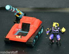 ZBots Ballistic Bomber Mobile Mega Cannon w/ Original Krobarr,