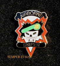 Military Assistance Command Vietnam MACV SOG AIRBORNE SNIPER HAT PIN UP ARMY WOW