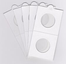 "LIGHTHOUSE 27.5mm SELF ADHESIVE 2""x 2"" COIN HOLDERS x 5 - SUIT HALFPENNY"