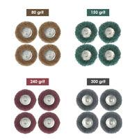 Rotary Nylon Polishing Wheel Brush Accessory For Dremel Rotary Tool New