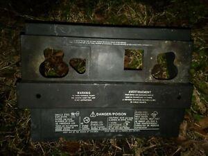 GMC Envoy Chevy Trailblazer GM Battery Cover Tray Lid Shield Box OEM