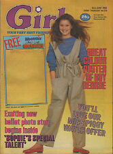 Girl Magazine 16 June 1984     Boy George     The Thompson Twins